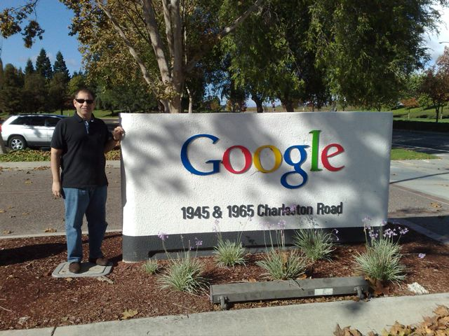 "The Google ""mother ship"" near Palo Alto, CA"