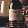 bottle from St. Francis Winery, Santa Rosa, CA