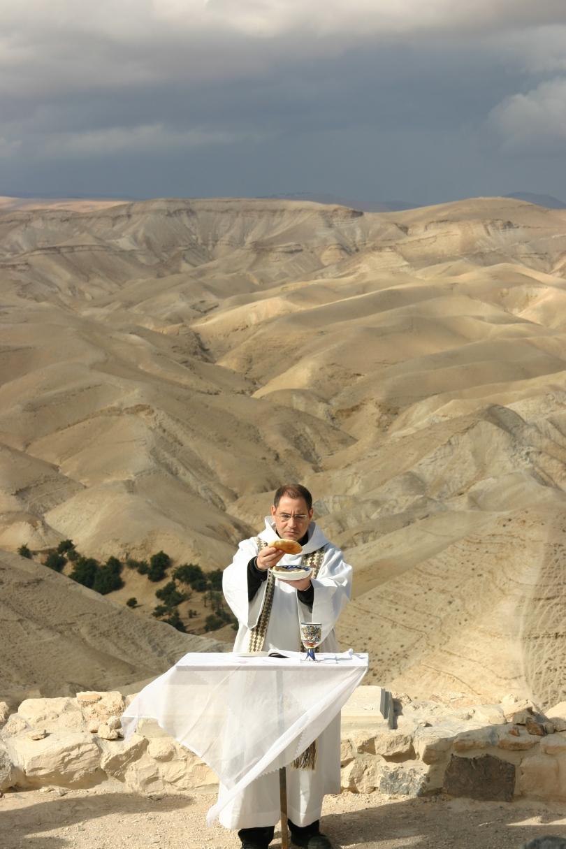 Mass in the Judean Desert
